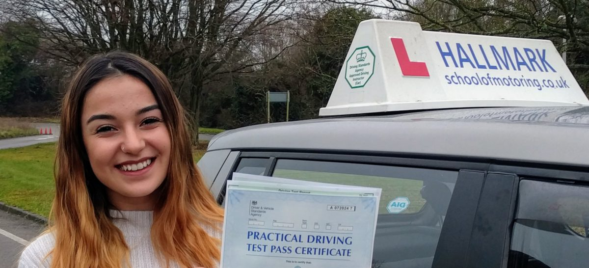 Hastings Driving Lessons home to Hallmark School of Motoring
